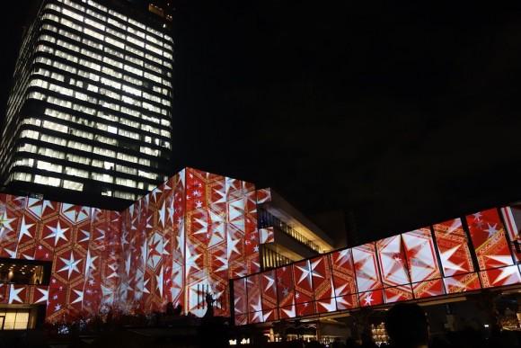 2015年東京スカイツリーのクリスマスプロジェクションマッピング (12)