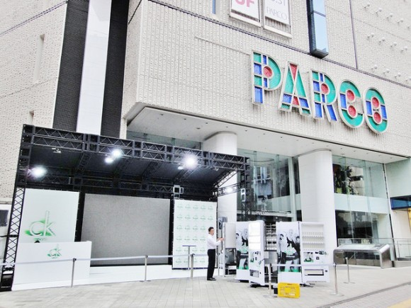 PARCOのセール店頭写真