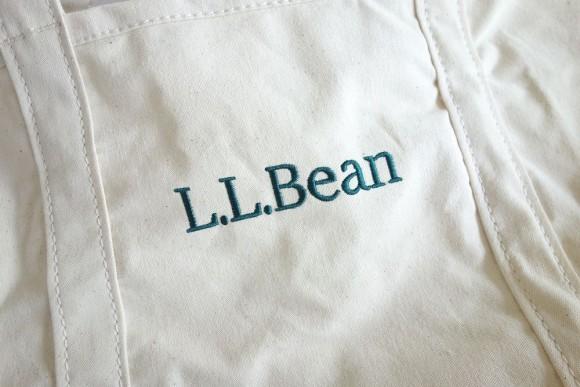 L.L.Bean(エルエルビーン)のおすすめエコバッグ「グローサリートート」 ロゴ (3)