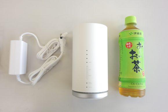 Speed Wi-Fi HOME L01のサイズ (1)
