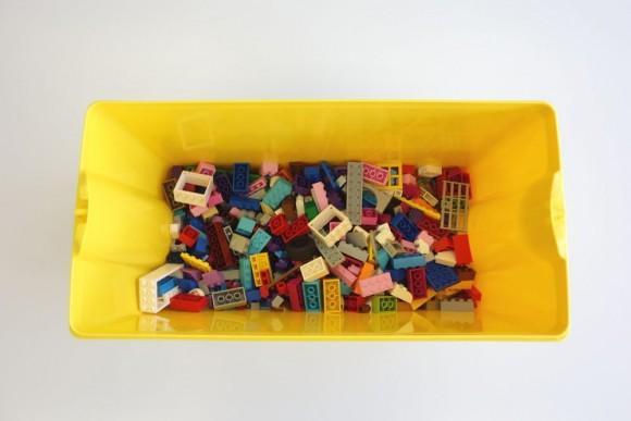 レゴ クラシック 黄色のアイデアボックス プラス 10696の中身 (15)