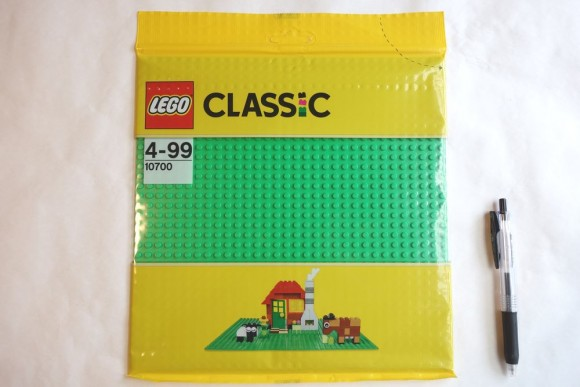 レゴブロックの基礎板は必要か?レビュー (2)