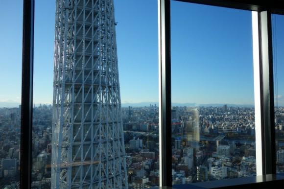 イーストタワーから望むスカイツリー (9)