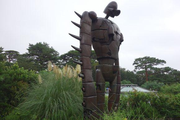雨の日の子ども連れジブリ美術館 (2)