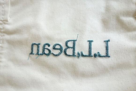 L.L.Bean(エルエルビーン)のおすすめエコバッグ「グローサリートート」 ロゴ (1)
