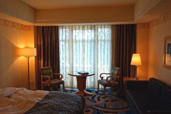 ディズニーアンバサダーホテルの部屋 (1)