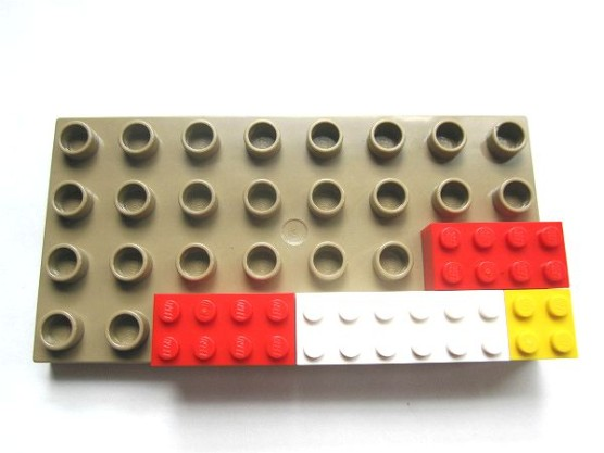 普通のレゴとデュプロの組みあわせ (15)