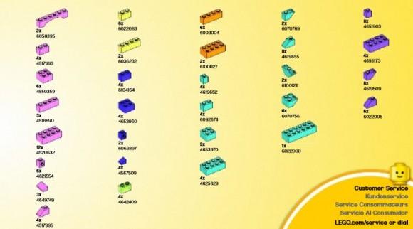 アイデアパーツ(明るい色セット) (4)