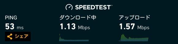 2017年2月からWiMAXの速度制限時は1Mbpsに