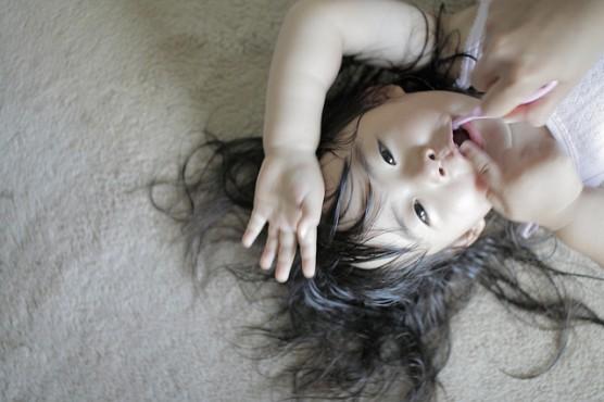子どもの歯磨き (3)