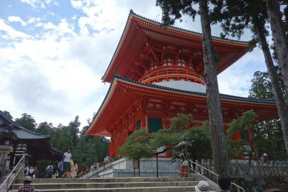 子供連れ高野山日帰り観光ルートと感想 (10)