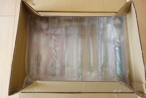 日用品の通販サイトLOHACO(ロハコ)の梱包状態 (3)