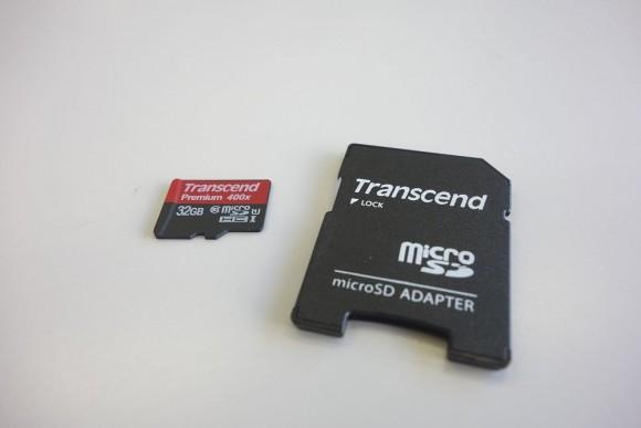 トランセンド(transcend)のマイクロSDカードの永久保証 (2)