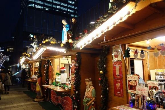 2015年東京スカイツリーのクリスマスプロジェクションマッピング (3)