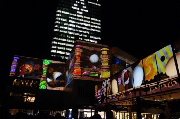 東京スカイツリー_プロジェクションマッピング2014 (8)