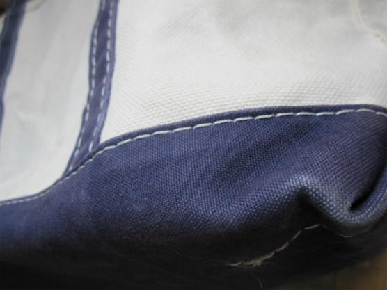 l.l.beanのトートバッグの色褪せ写真4