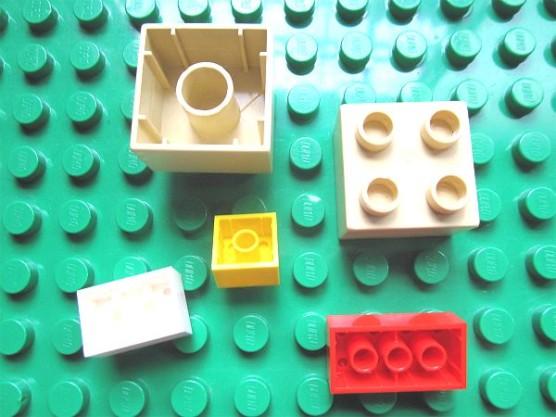 普通のレゴとデュプロの組みあわせ (14)