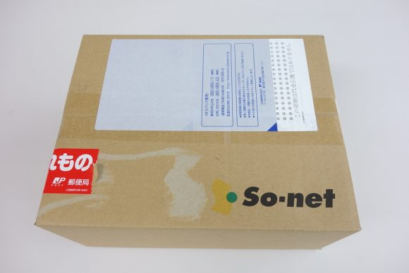 ソネットのWiMAXルーターは何日で届くか (1)
