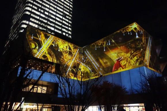 2015年東京スカイツリーのクリスマスプロジェクションマッピング (16)