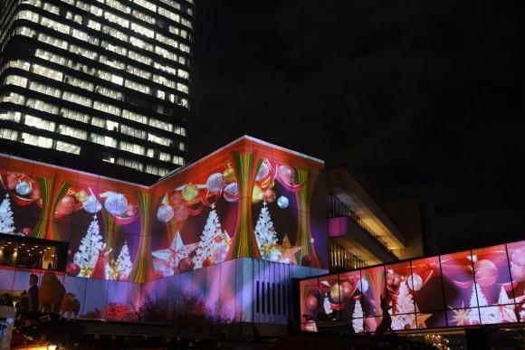 2015年東京スカイツリーのクリスマスプロジェクションマッピング (19)
