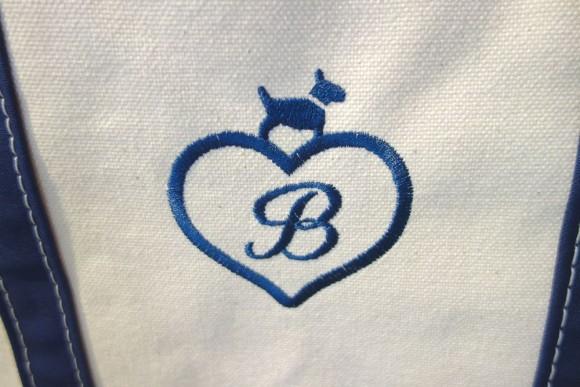 L.L.Beanのトートバッグのイニシャル刺繍「モノグラム」の新しいバージョン紹介 (7)
