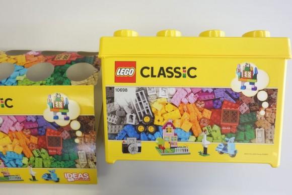 レゴ クラシック 黄色のアイデアボックスプラス 10696のパッケージ (3)