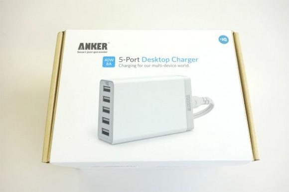 Anker 40W 5ポート USB急速充電器の評判 (3)