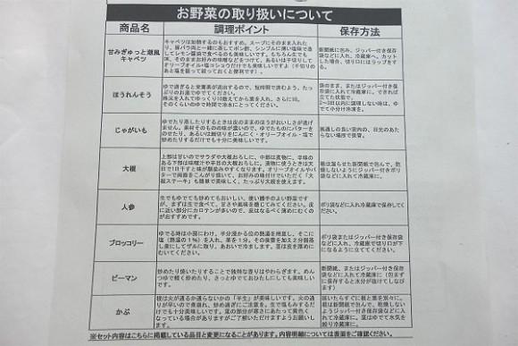 大地を守る会「お試しセット」レビュー (7)