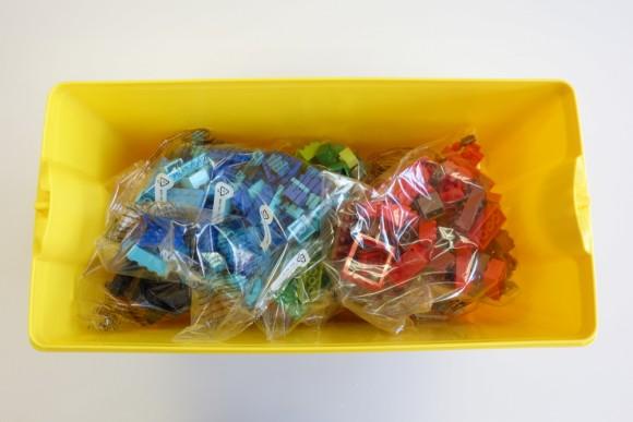 レゴ クラシック 黄色のアイデアボックス プラス 10696の中身 (16)