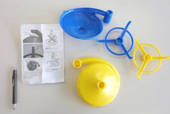 ピタゴラスイッチのおもちゃ「くもんのくみくみスロープ」部品 (8)