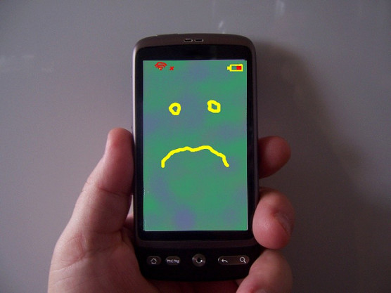 スマートフォンは難しい