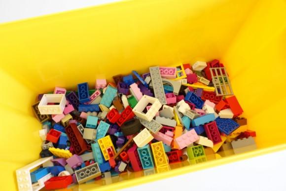 レゴ クラシック 黄色のアイデアボックス プラス 10696の中身 (1)