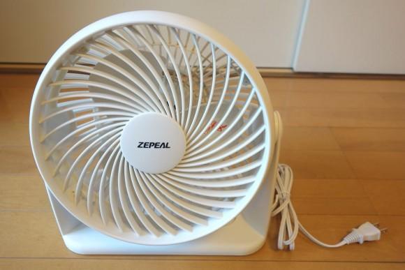 サーキュレーターを比較して最終的に購入したZEPEALのサーキュレーター (3)