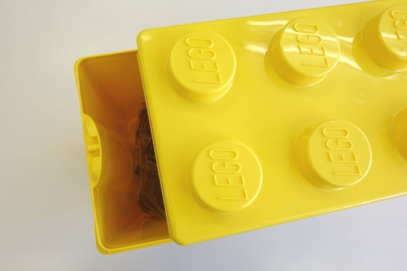 レゴ クラシック 黄色のアイデアボックス プラス 10696のボックス詳細