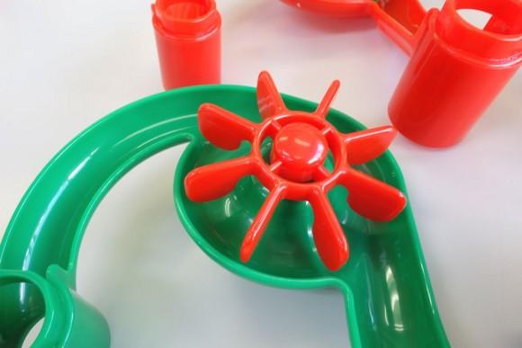 ピタゴラスイッチのおもちゃ「くもんのくみくみスロープ」部品 (7)