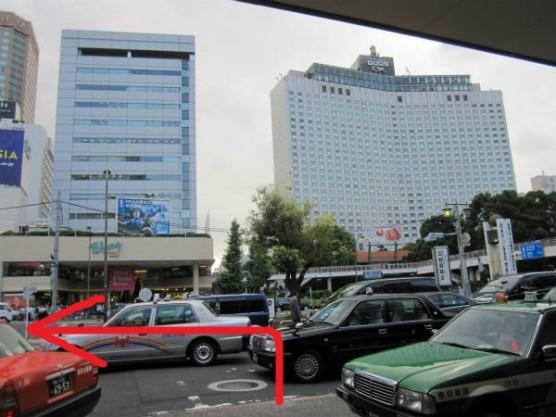 品川駅から八ツ山橋への行き方 (1)